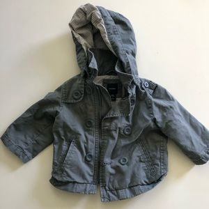 Gap Kids grey Coat with hood